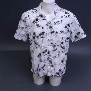 Pánská košile 28 Palms s krátkým rukávem