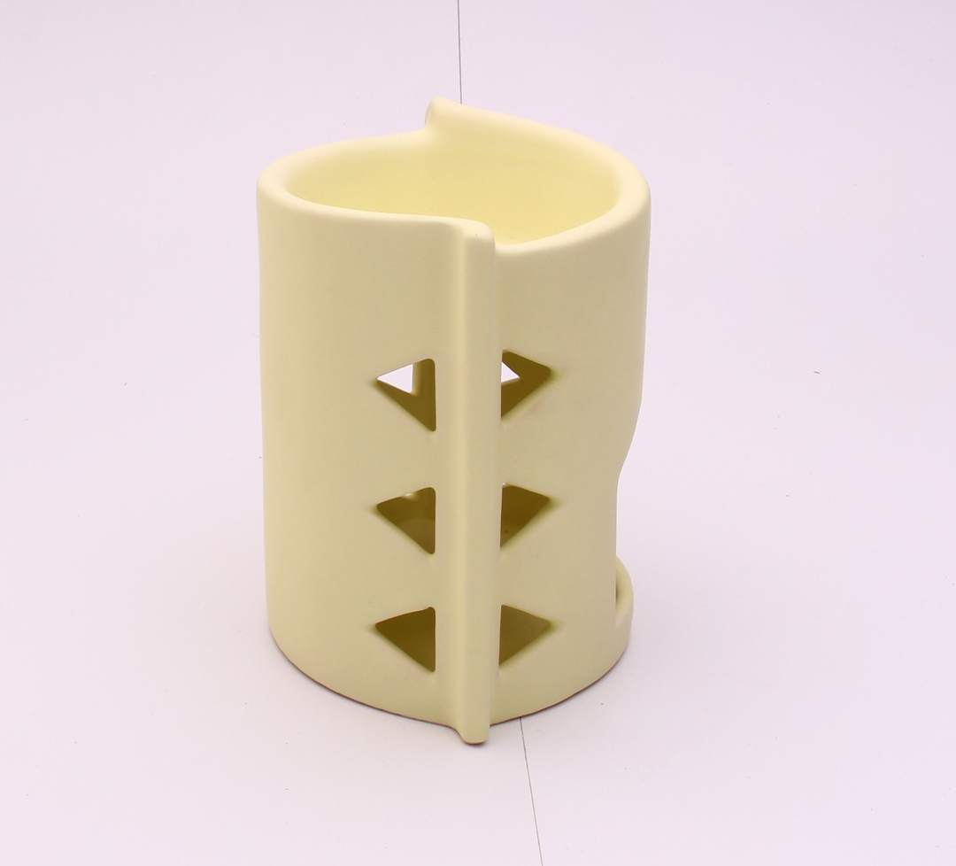 Keramická béžová aroma lampa
