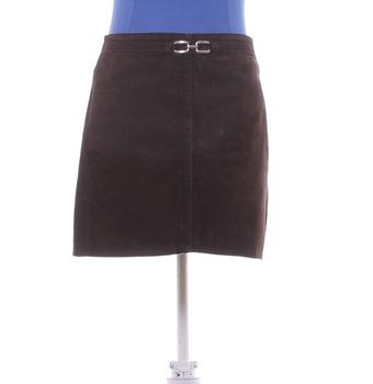 Dámská sukně Oasis hnědé barvy