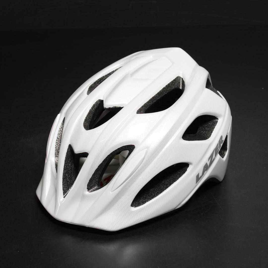 Cyklistická přilba Lazer bílá