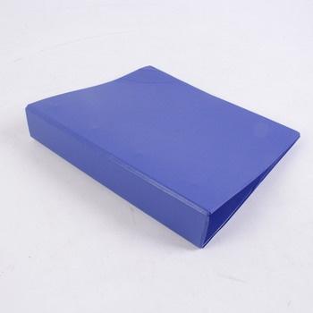 Čtyřkroužkový pořadač Esselte A4 modrý