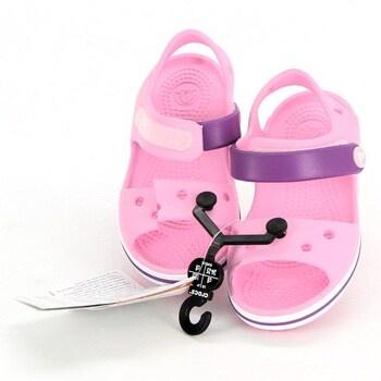 Dětské sandály Crocs 12856 růžové