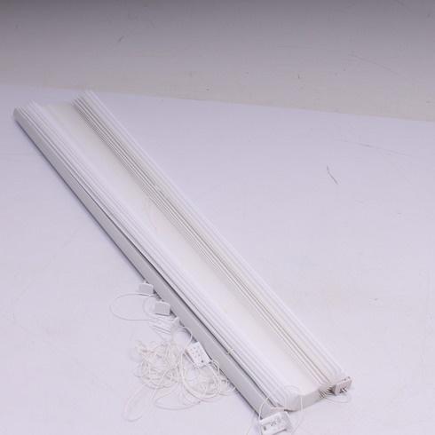 Roleta Déco Profi Plissee 85 x 220 cm bílá
