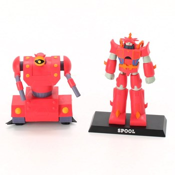 Figurky Transformers červené 2 ks