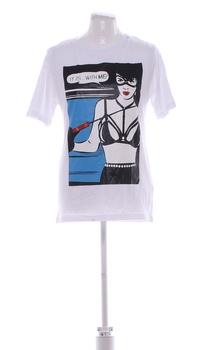 Pánské tričko Replay bílé s potiskem