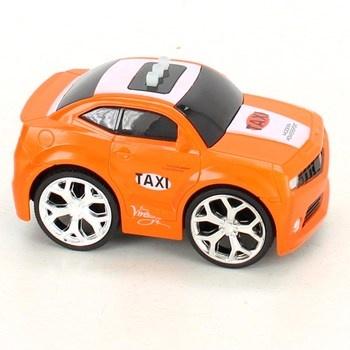Závodní autíčko GearBox Taxi oranžové