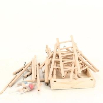 Dřevěná průlezka Trixie 5659