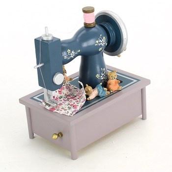 Hudební hodiny Legler Šicí stroj