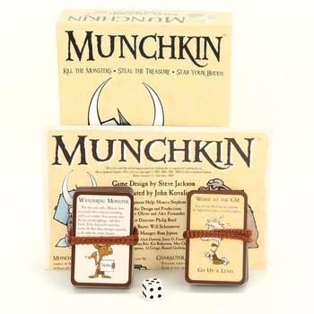 Karetní strategická hra Munchkin