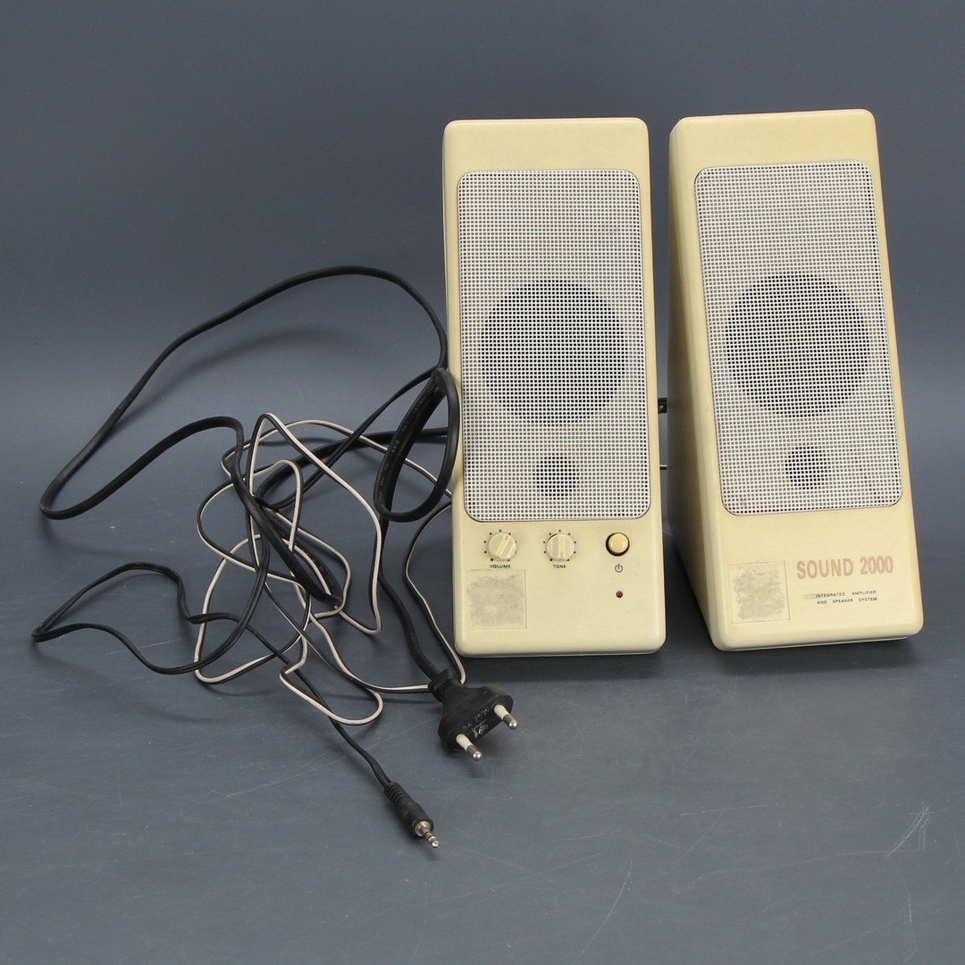 2 reproduktory k PC Sound 2000