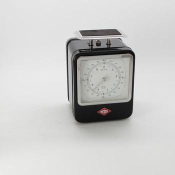 Kuchyňská váha s hodinami Wesco Retro černá