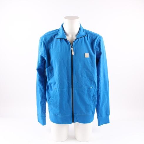 Pánská mikina Loap Distinctive modrá na zip - bazar  d9b62d83503
