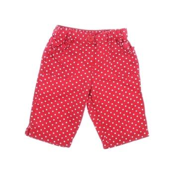 Dětské kraťasy George červené s puntíky