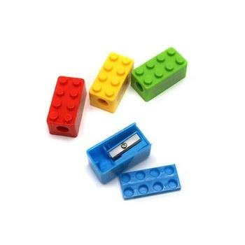 Plastové školní ořezávátko 813210 mix barev
