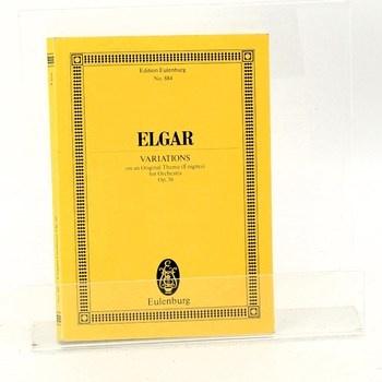 Kniha Edward Elgar: Variations