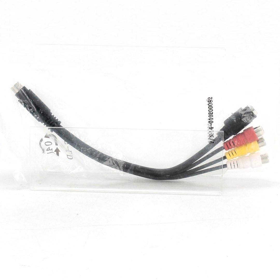 Kabel 3x Cinch / S-Video délka 25 cm