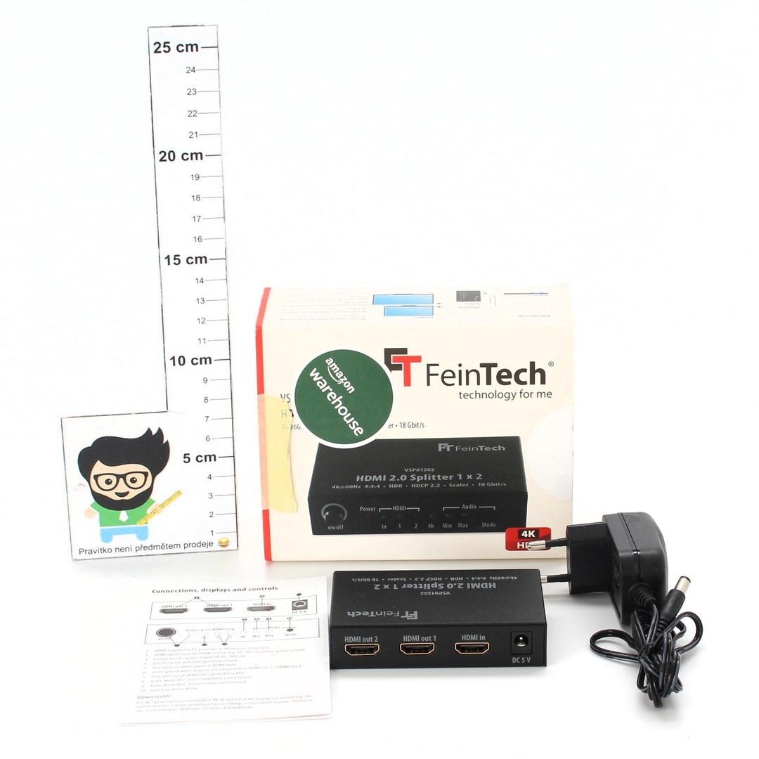 Rozbočovač FeinTech VSP01202 černý EU
