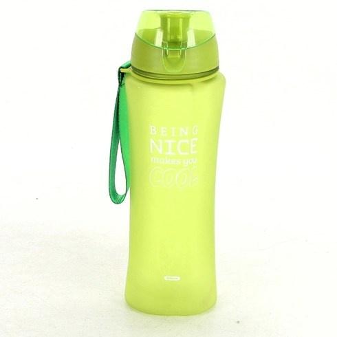 Plastová láhev na vodu žlutá