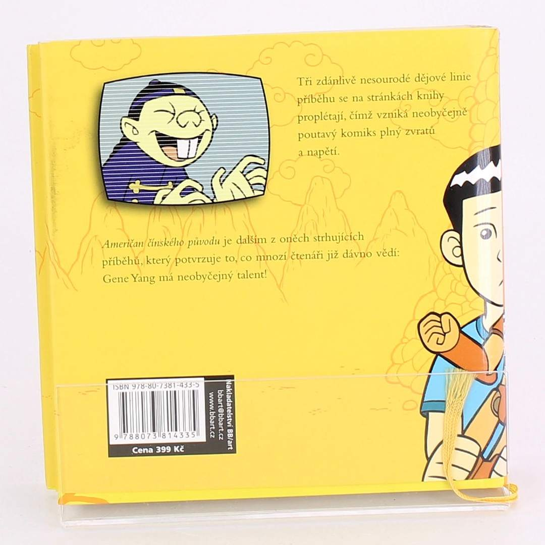 Kniha Američan čínského původu Gene Luen Yang