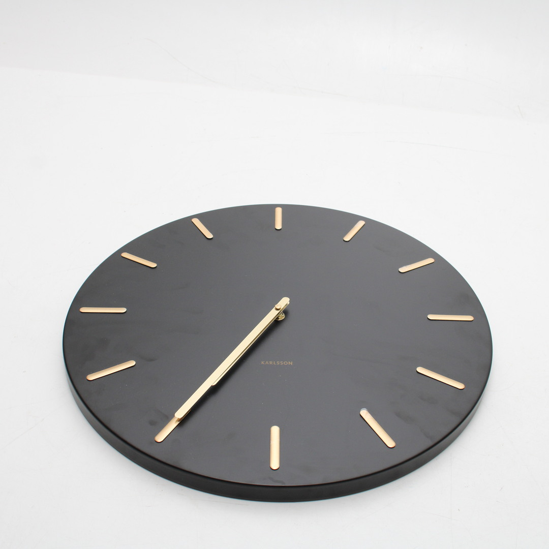 Nástěnné hodiny Karlsson KA5716BK černé