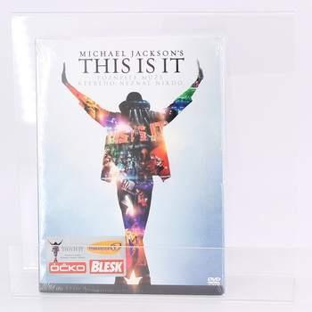 Hudební DVD This is it-Michael Jackso Kenny Ortega