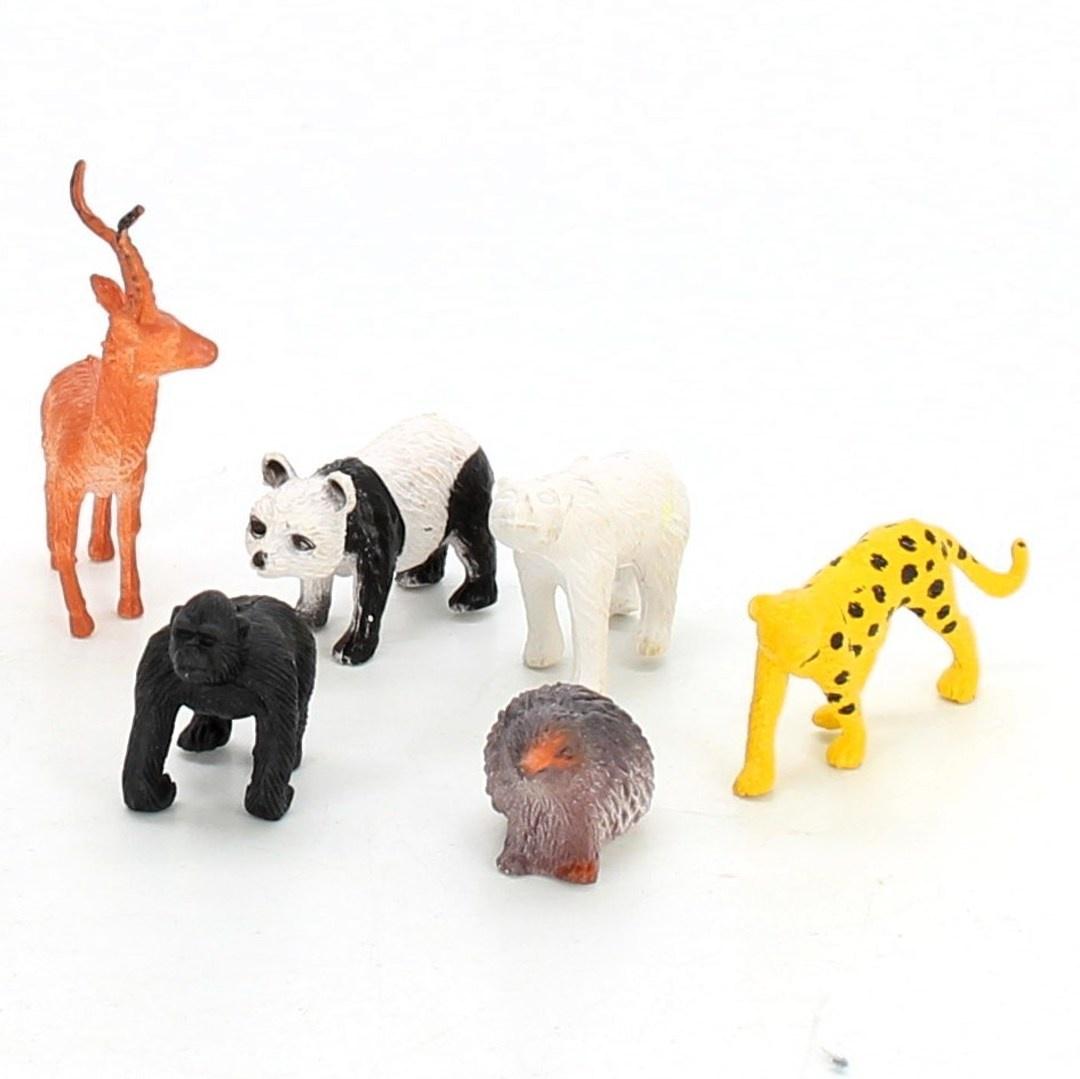 Figurky zvířat z džungle