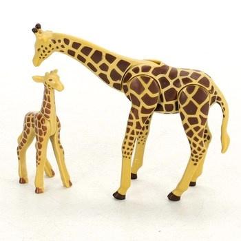 Žirafa s mládětem Playmobil 6640