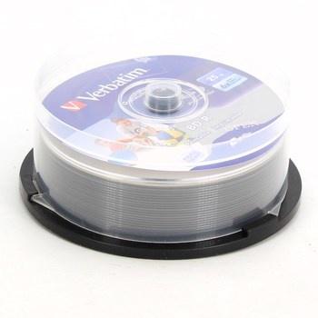 Blu-ray disky Verbatim BD-R 25 ks