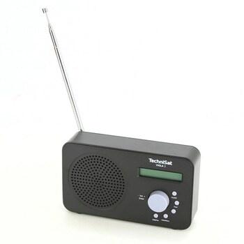Radiobudík Technisat Viola 2 černý
