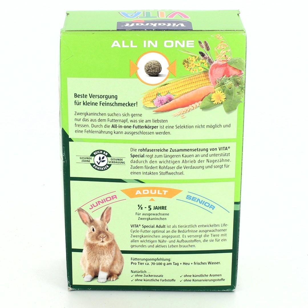 Krmivo pro králíky Vitakraft 25841 Adult