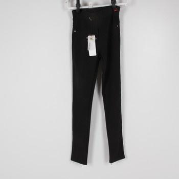 19b38e9eef9 Dámské dlouhé kalhoty černé barvy