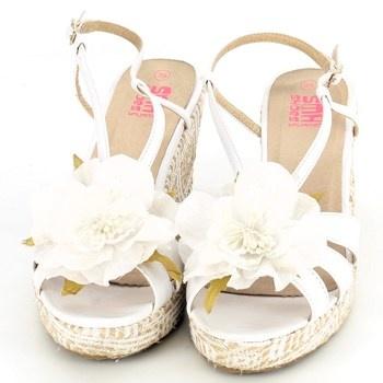 Dámské sandálky na klínku SMH shoes