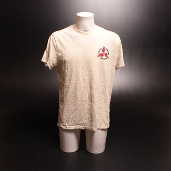 Pánské tričko SUPER DRY bílé s nápisem