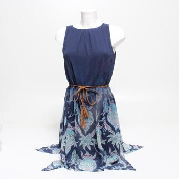 Dámské šaty Desigual modré vel. S