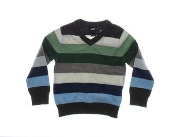 Dětský letní svetr H&M pruhovaný pro batole
