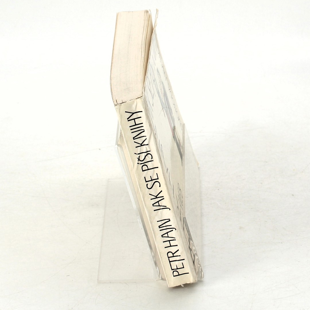 Kniha Petr Hajn: Jak se píší knihy aneb...