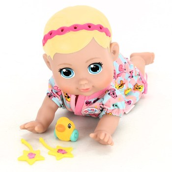 Baby born Funny faces crawling baby