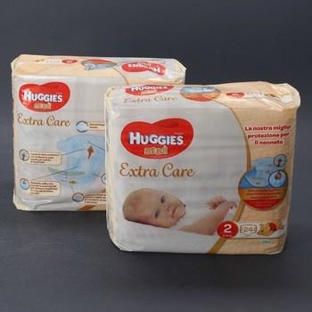 Jednorázové pleny Huggies Bebé Extra Care 2