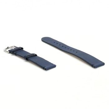 Řemínek k hodinkám Withings kožené modré