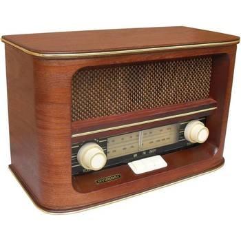 Radiopříjmač Hyundai Retro RA 601 dřevo