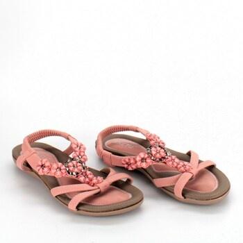 Dámské letní sandály Woky růžové vel. 37