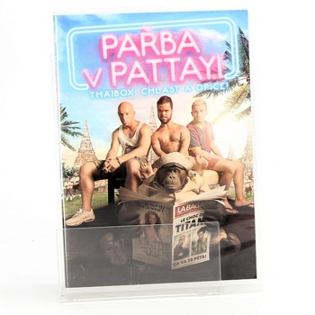 DVD film - Pařba v Pattayi