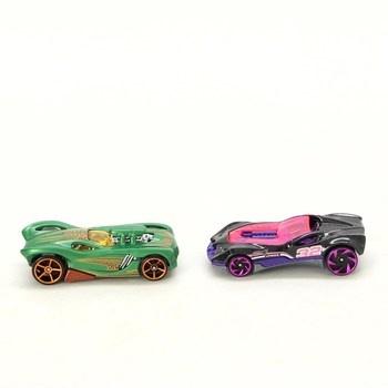 Modely autíček Hot Wheels 2ks