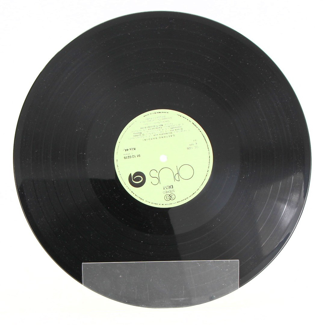 Gramofonová deska Gaetano Barnini: O Sole Mio