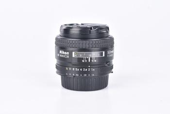 Objektiv Nikon 50 mm F1,4 AF NIKKOR D A