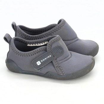 Dětská obuv Domyos odstín šedé