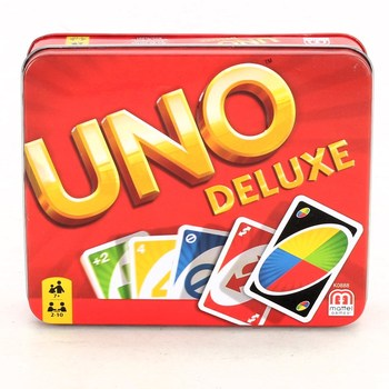 Karetní hra Mattel Uno Deluxe