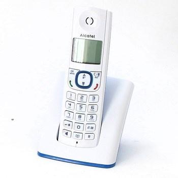 Bezdrátový telefon Alcatel F530 modrobílý