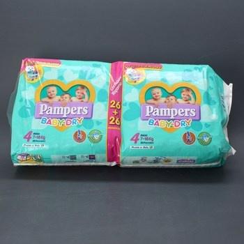 Jednorázové pleny Pampers baby-dry 4 112 ks