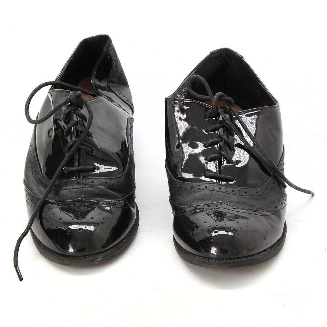Pánské taneční boty černé barvy